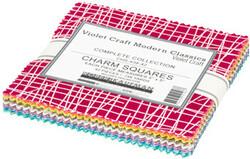 Violet Craft Modern Classics 2 Charm Squares