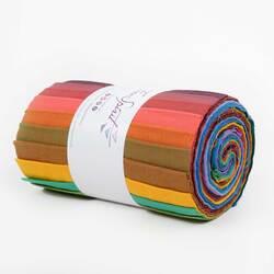 "Shot Cotton Solids 6"" Design Strips"