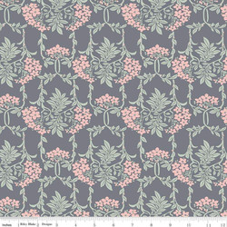 Nouveau Mayflower in Gray and Pink