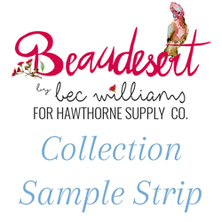 Beaudesert Sample Strip