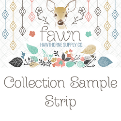 Fawn Sample Strip