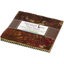 "Impressions of Tuscany Artisan Batiks 5"" Square Pack"