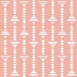Little Tribal Stripe in Peony