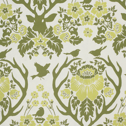 Antler Damask in Sage