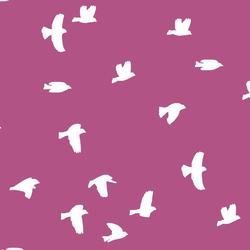 Flock Silhouette in Azalea