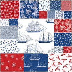 Nautical Fat Quarter Bundle