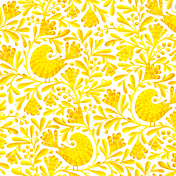Olga in Yellow