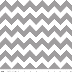 Medium Chevron in Gray