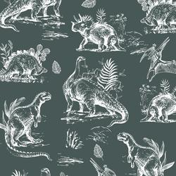 Dinosaurs in Grey Green