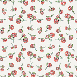 Lively Rosebuds in Crystal