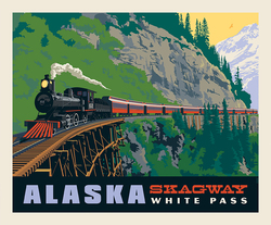 Poster Panel in Skagway