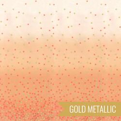 Ombre Confetti Metallic in Coral