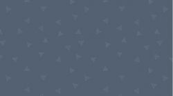 Triangle Dot in Denim