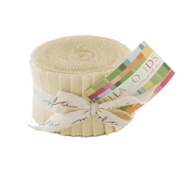 Bella Solids Junior Jelly Roll in Natural