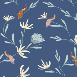 Chinoiserie in Porcelain Blue