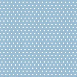 Garden Dot in Serene Blue