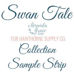 Swan Tale Sample Strip