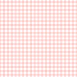 Summer Gingham in Petal Pink