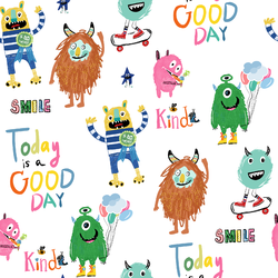 Colorful Monster Quotes in Multi