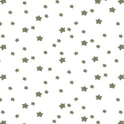 Star Light in Olive on White