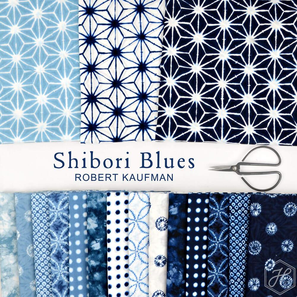 Shibori Blues Poster Image