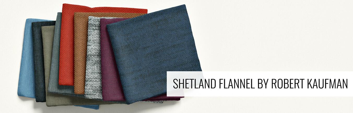 New Shetland Flannel by Robert Kaufman