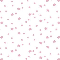 Star Light in Carnation on White