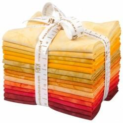 Artisan Batiks: Prisma Dyes, Lava Flow Colorstory Fat Quarter Bundle