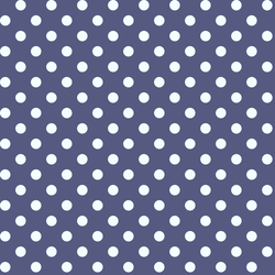 Candy Dot in Indigo