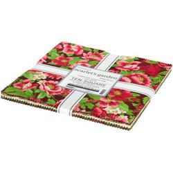 "Flowerhouse Scarlet's Garden 10"" Square Pack"