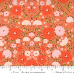 Florals in Orange