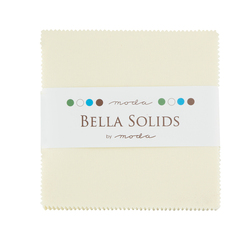Bella Solids Charm Pack in Snow