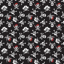 Skulls in Black