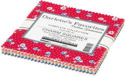 Darlene's Favorites Charm Squares