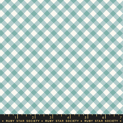 Painted Gingham in Polar