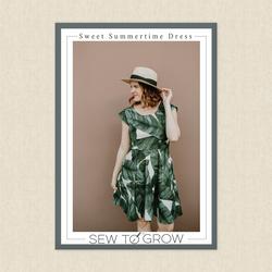 Sweet Summertime Peplum and Dress