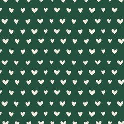 Big Queen of Hearts in Deep Emerald