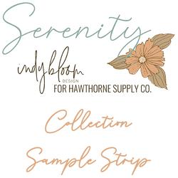 Serenity Sample Strip