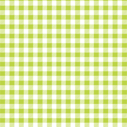 Small Buffalo Plaid in Lime