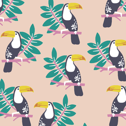 Toucans in Shell