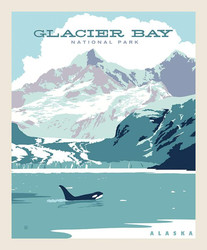 Poster Panel in Glacier Bay