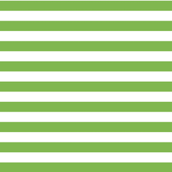 Horizontal Candy Stripe in Greenery