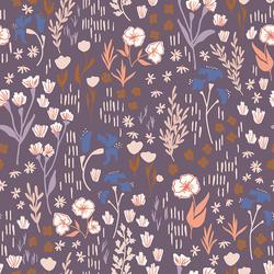 Meadow in Dark Lilac