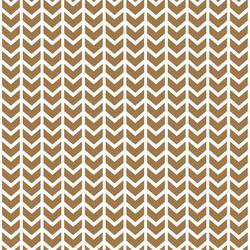 Broken Chevron in Ochre