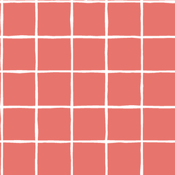 Windowpane in Living Coral