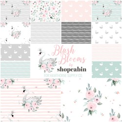 Blush Blooms Fat Quarter Bundle Large Scale