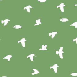 Flock Silhouette in Pistachio
