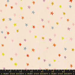 Starry in Rainbow Unbleached