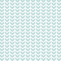 Broken Chevron in Glacier Blue
