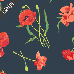 Poppy Rayon in Memories